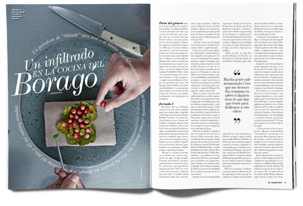 Un infiltrado en la cocina del Boragó