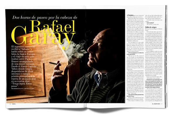 Dos horas de paseo por la cabeza de Rafael Garay
